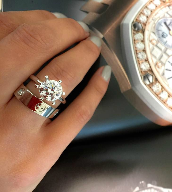 Leila Amia Cartier Wedding Rings Cartier Love Ring