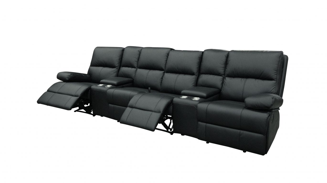 4 Seater Sofa Australia Mayfair 4 Seater Home Theatre Lounge Leather Sofas
