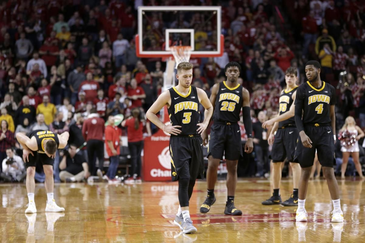 Hawkeyes Squander Huge Lead In Regular Season Finale Nebraska