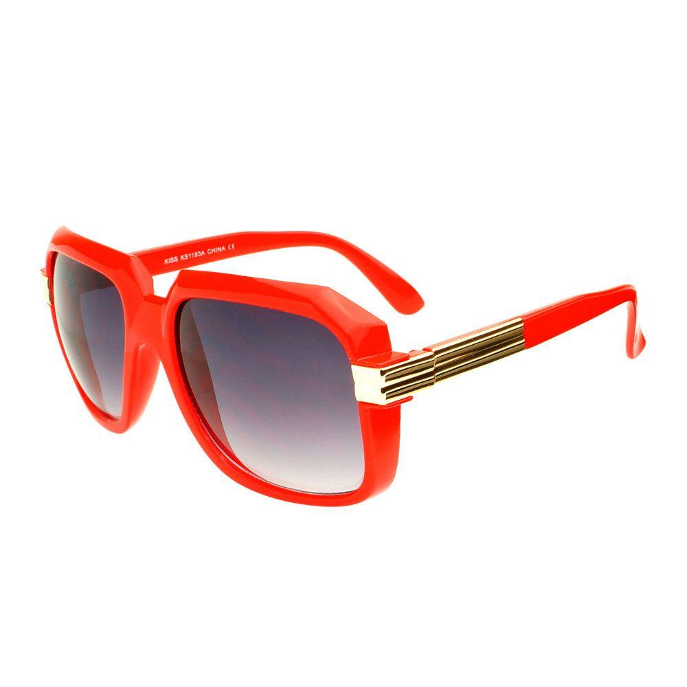 beb59b3ed12  oldschool  clearlens  rundmc  retro  vintage  fashion  square  large   eyeglasses  frames  aviator  celebrity  red