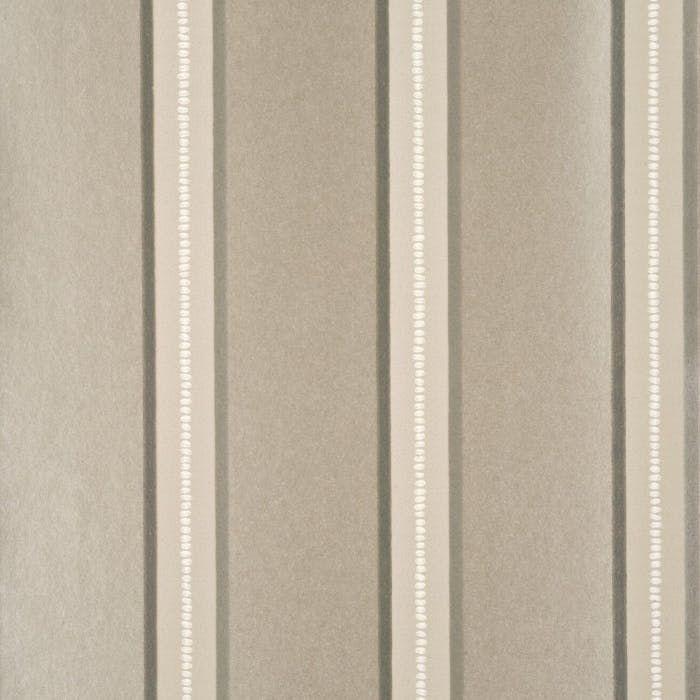 Bedroom Accent Wallideas: Crayford Stripe - Ivory/Bronze - Wallcovering