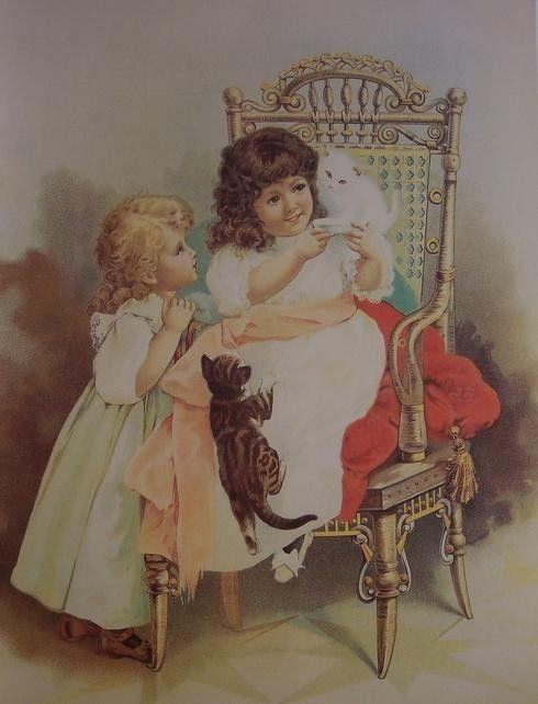 3 cartes vintage enfants - Page 13