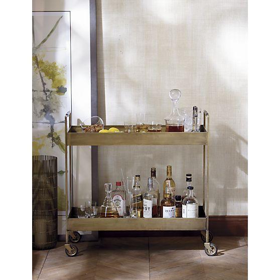 Decorating Inspiration: Bar Carts