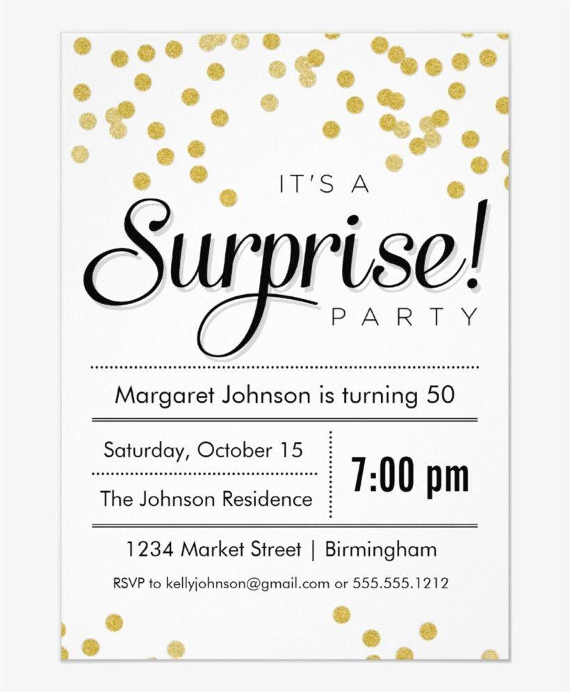 Surprise Party Invitation Template Surprise Engagement Party Surprise Engagement Surprise Party Invitations