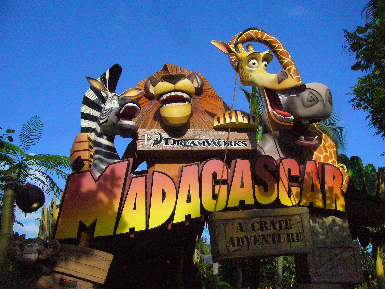 Madagascar A Crate Adventure Universal Studios Singapore Theme Parks Rides Universal Studios