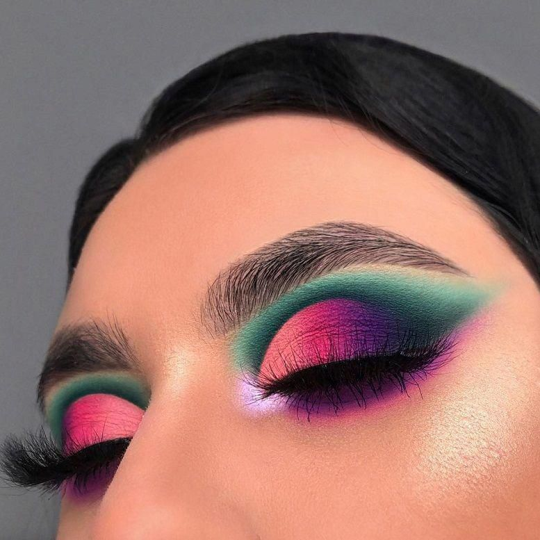 29 Colourful makeup looks the easiest way to update your look