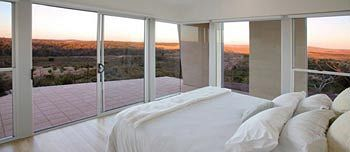 Tanonga Eco Lodges, Eyre Peninsula And a bed with even more a view!