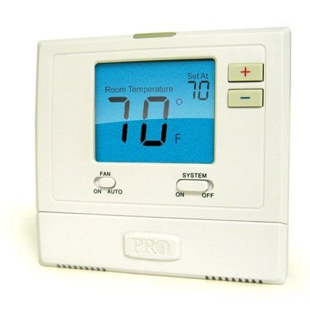 Pro1iaq Model T701 1 Heat 1 Cool Non Programmable Thermostat By