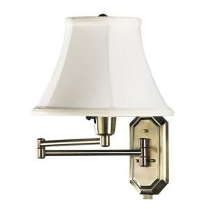 Home Depot Lamp Shades Swing Arm Wall Mount Lamp$30 At Home Depotwould Be Cute With A