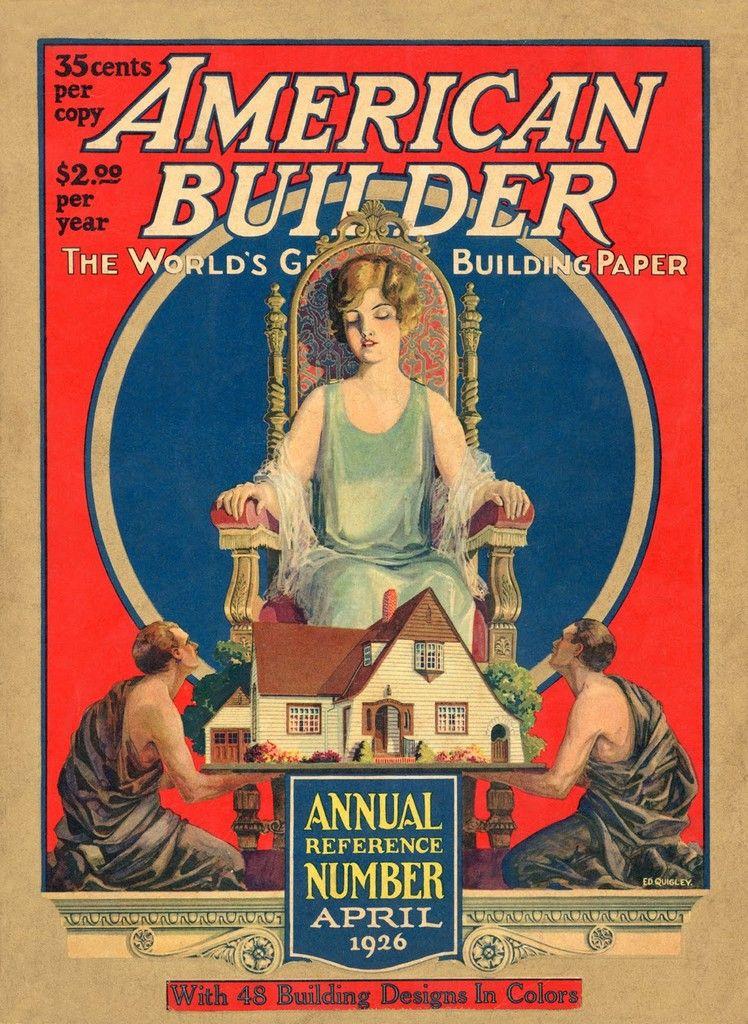 American builder 1926 vintage blog vintage