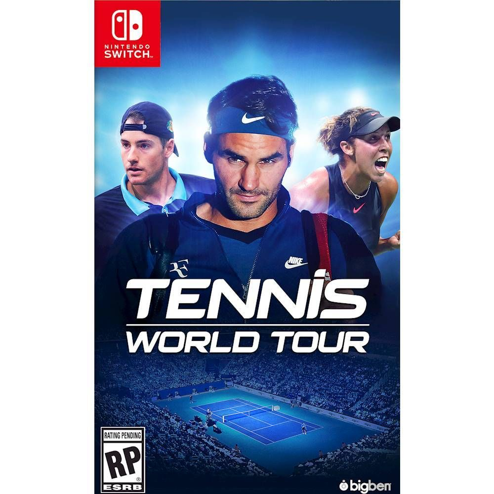 Tennis World Tour Nintendo Switch Tennis world