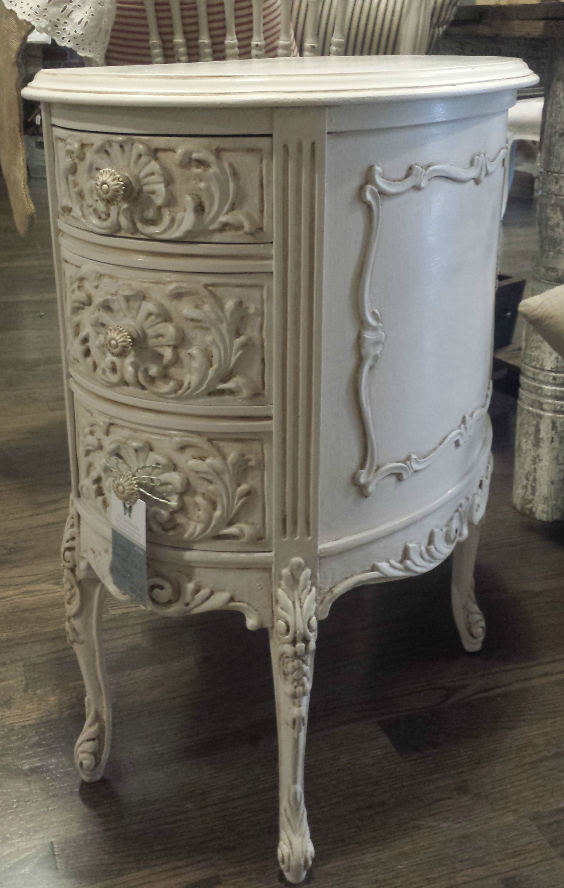 French End Table painted with Amy Howard One Step paint in