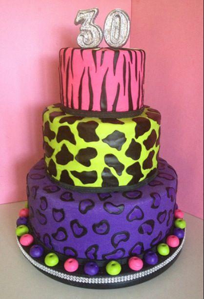 80s Cake Birthday Cake 50th Birthday Party Cake
