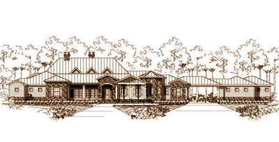 Luxury Style House Plan