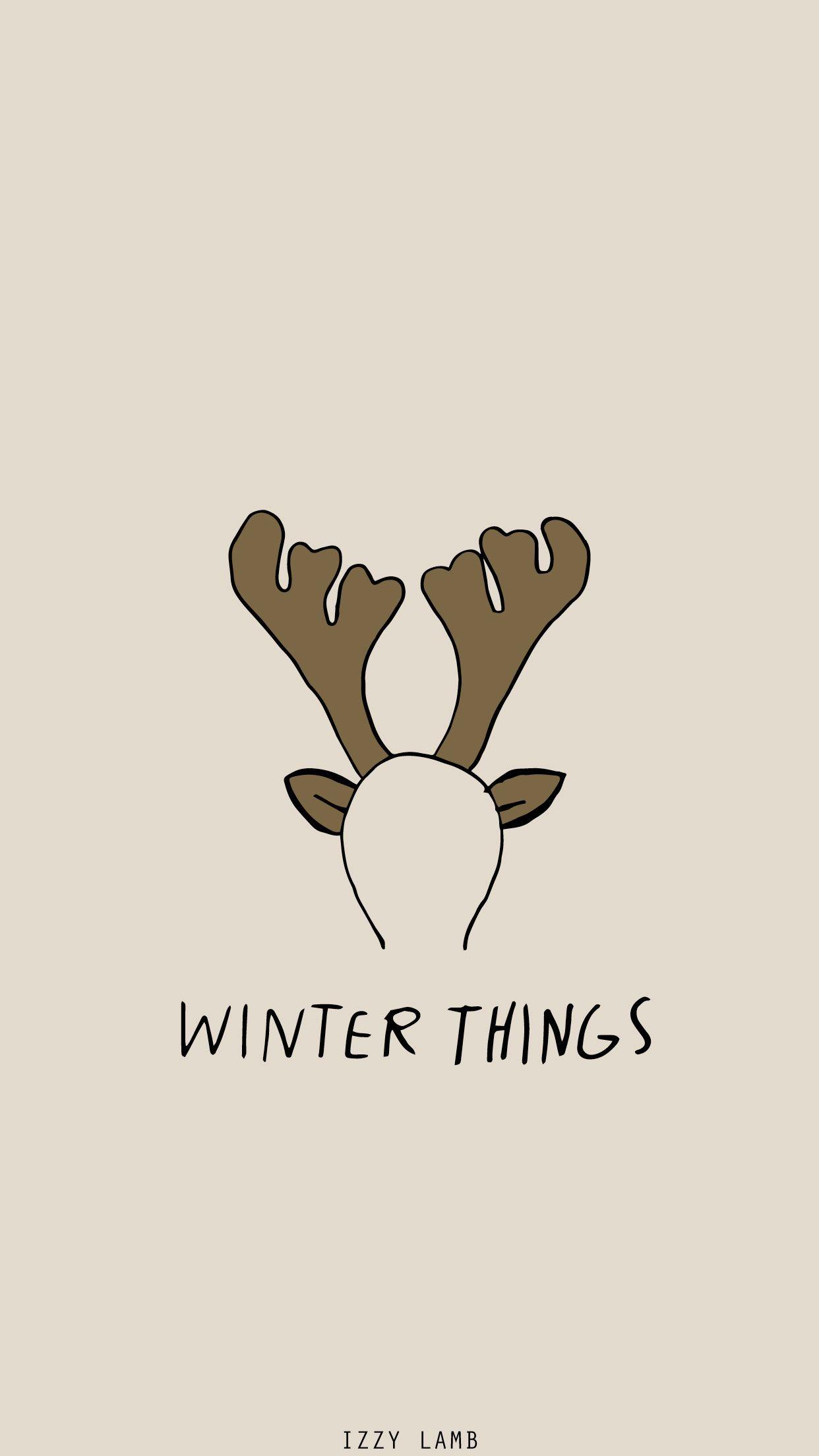 Ariana Grande Christmas Wallpaper Deer Arianagrande