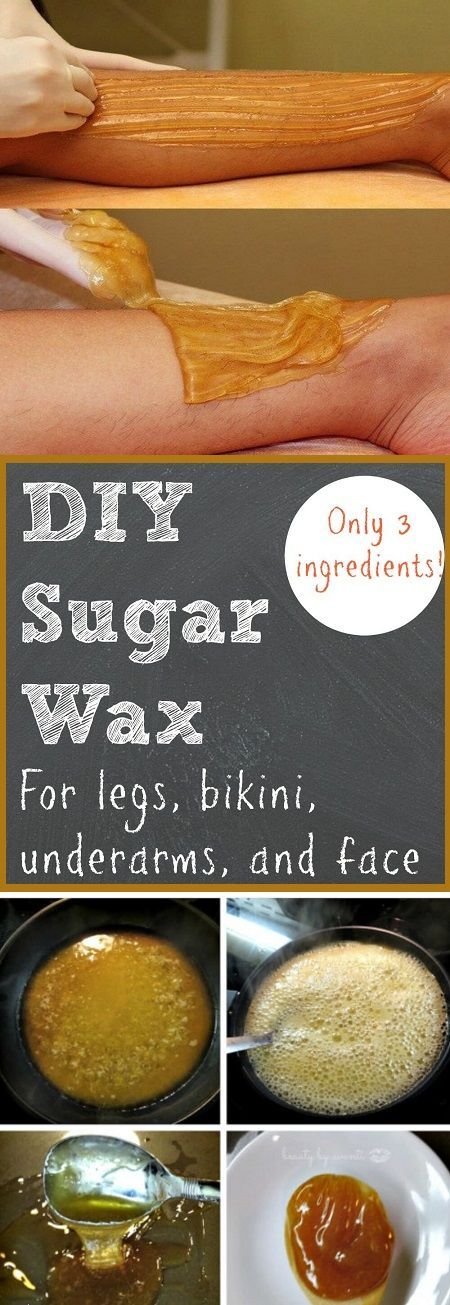 How to Make Sugar Wax at Home  for Legs Bikini Underarms and Face