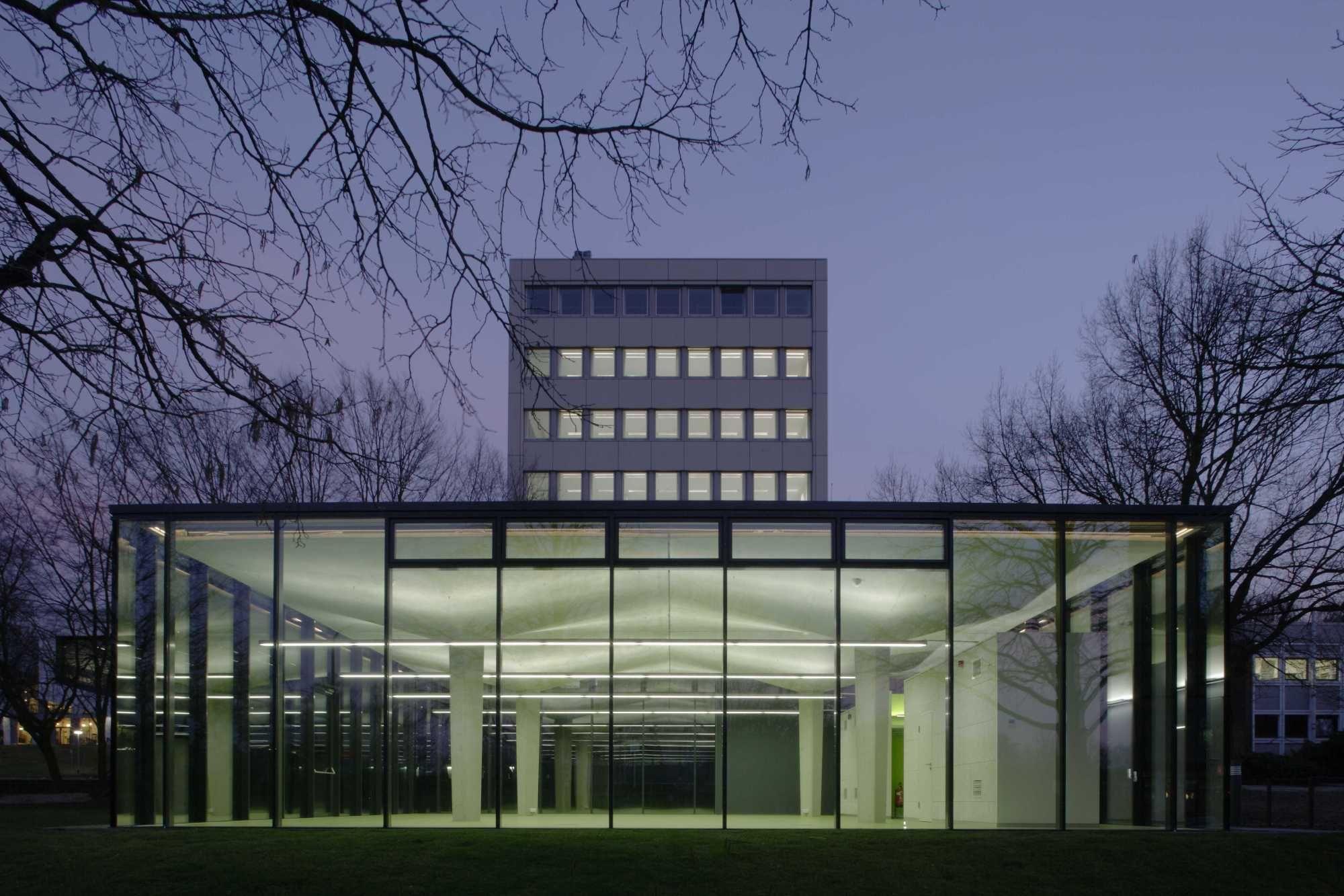 Meister Architektur neuer stoff und alter meister pavillon aus textilbeton an der rwth