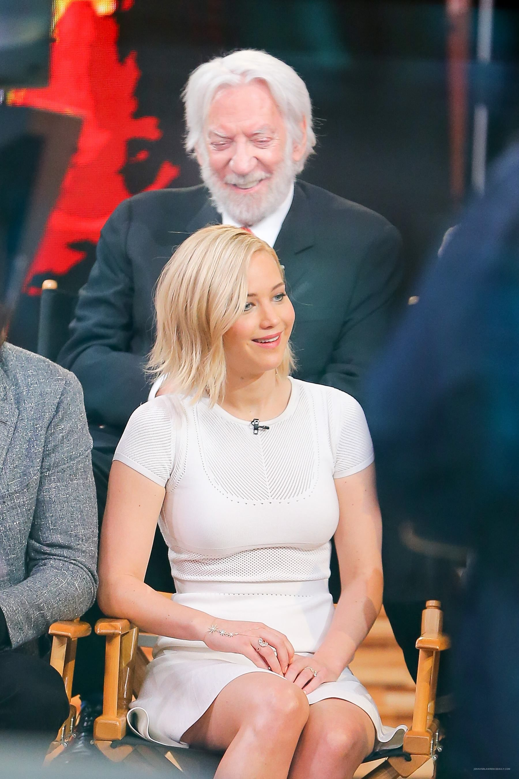 The Hunger Games cast at Good Morning America November 18/ 2015
