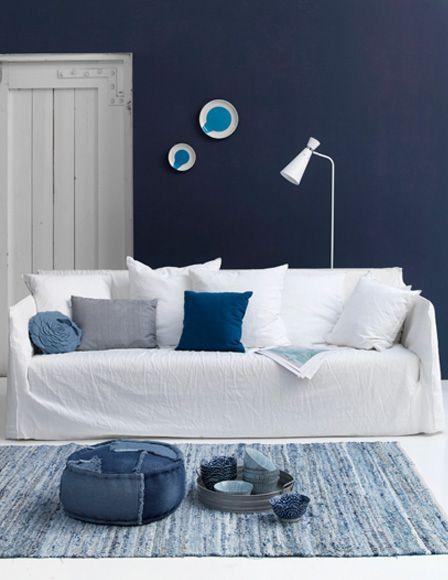 Interiors Originals Blue Jeans Habitaciones Azules Ideas Creativas Para Decorar Paredes De Color Azul