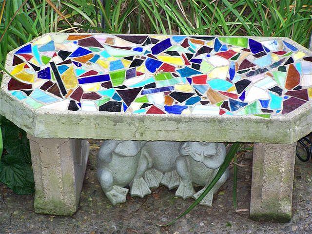 Scrap And Slap Diy S And Ideas Mosaic Mosaic Garden