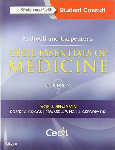 Andreoli and carpenters cecil essentials of medicine 9e cecil andreoli and carpenters cecil essentials of medicine 9e cecil medicine 9781437718997 fandeluxe Gallery