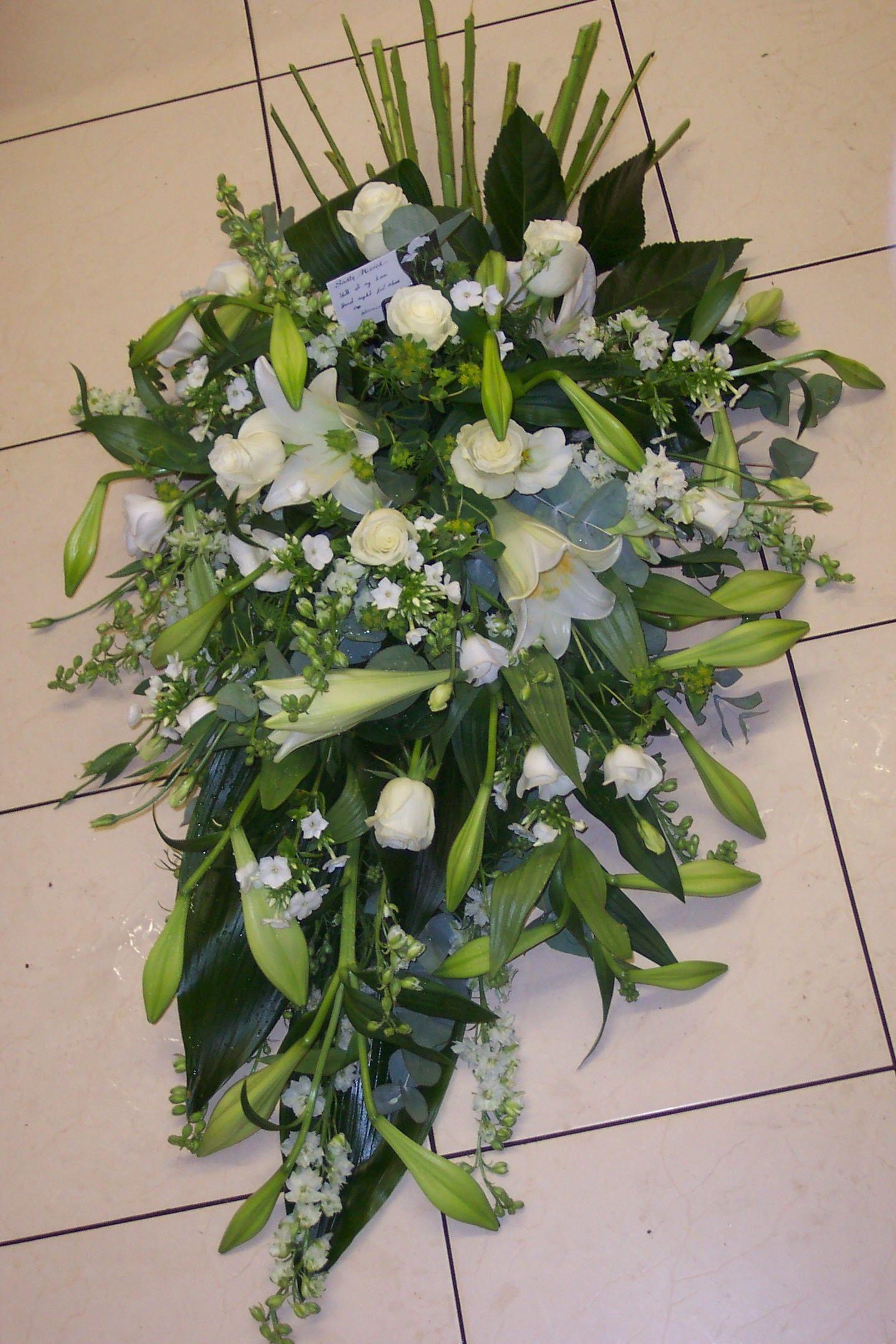 Elegant Funeral Flowers Funeral Floral Designs Pinterest