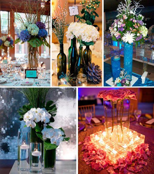 Centros de mesa 15 a os pinterest mesas y ideas - Centros decorativos modernos ...