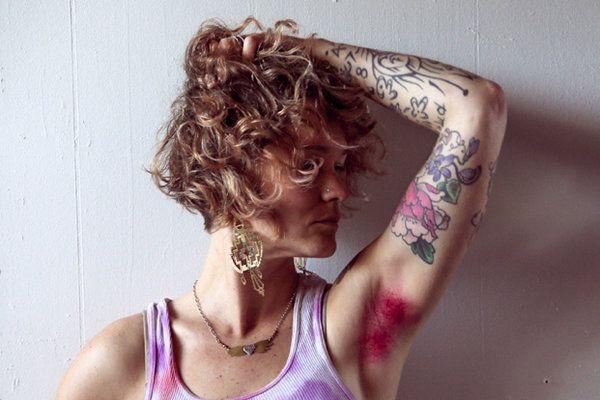 Women Who Dye Their (Armpit) Hair - The New York Times