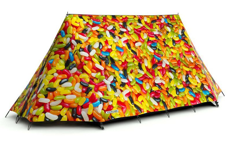 FieldCandy. Tents Cool Enough To Get Anyone - Even Me - To Consider Sleeping Outdoors. - if it's hip, it's here