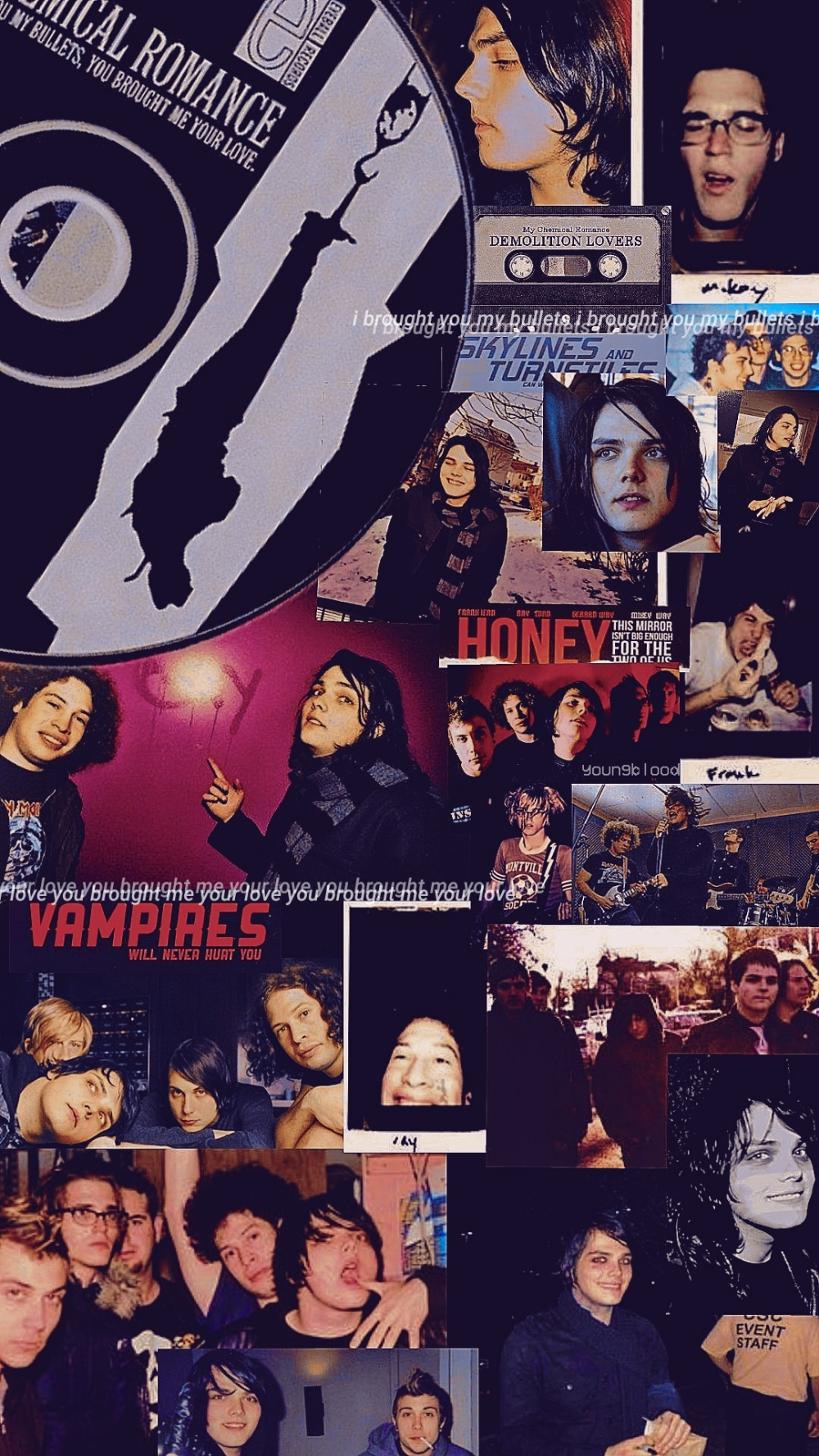 Danger Days Tumblr Emo Wallpaper My Chemical Romance Wallpaper Band Wallpapers