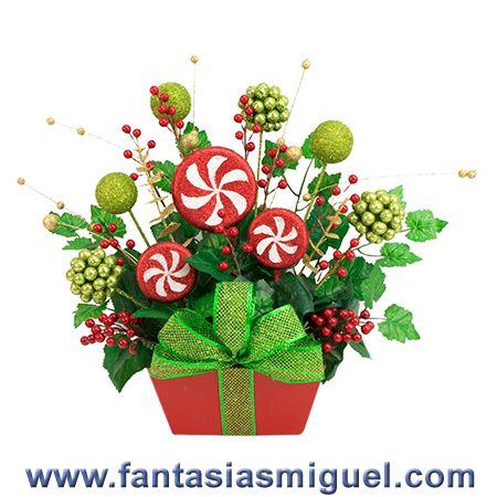 Adorno navide o decorado con esferas y pick de cerezas - Hacer videos navidenos ...