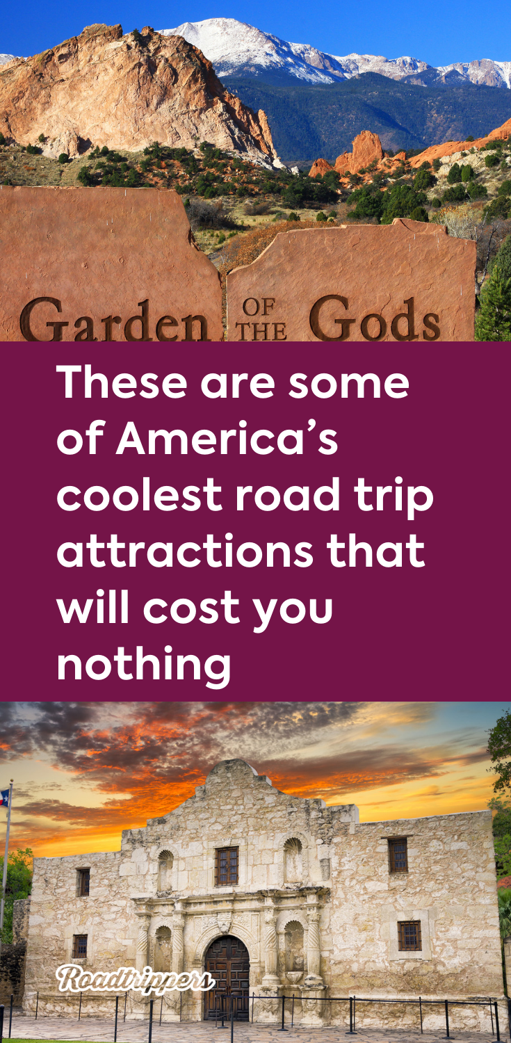 These Are Some Of America S Coolest Road Trip Attractions That Will Cost You Nothing Trip Driving Road Trip Oregon Road Trip