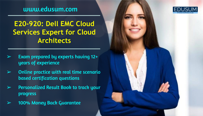 Advance Your Career with Dell EMC (E20920) Certification