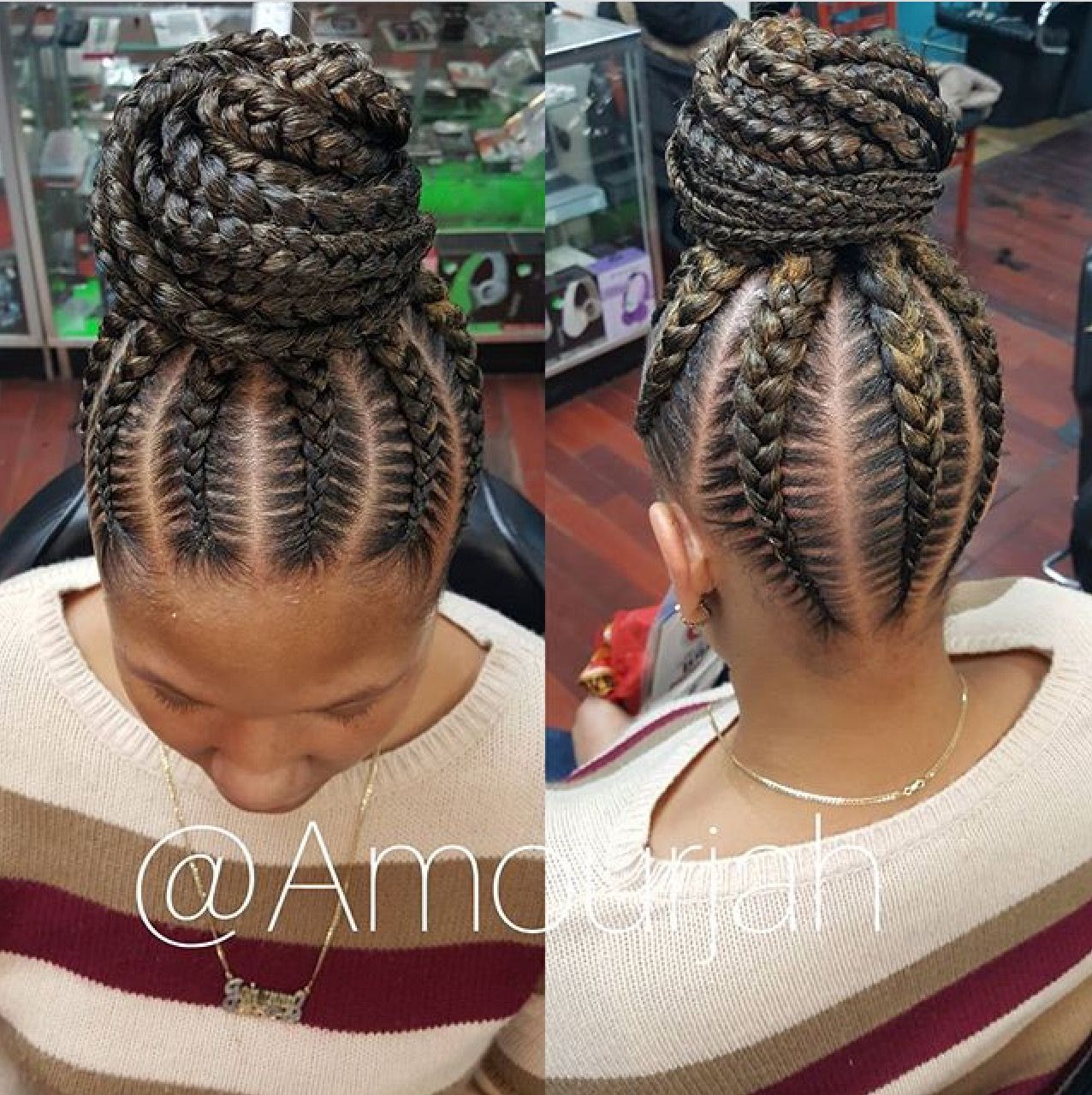 Braided Updo Braided Hairstyles Braided Bun Hairstyles Cornrow Hairstyles