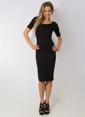 Black Basic Dress #Black #Dress #Basics #Tight #LBD #Layers #Business #Daytime #Nightlife #Holidays #NewYearsEve #Dress #Evening #DaytoNight #Style #Fashion #Sexy #Formal #Elegant #Wholesale #Downtown #LosAngeles #StylishWholesale