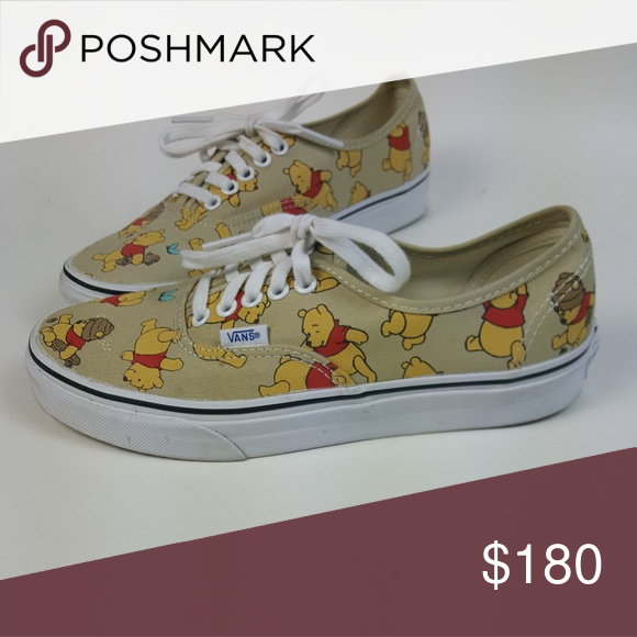 Rare Winnie the pooh vans. Women size 8 Pre-owned Vans Winnie the Pooh Van  women s size 8. Asking 180. RARE! Vans Shoes Sneakers 10e2264060