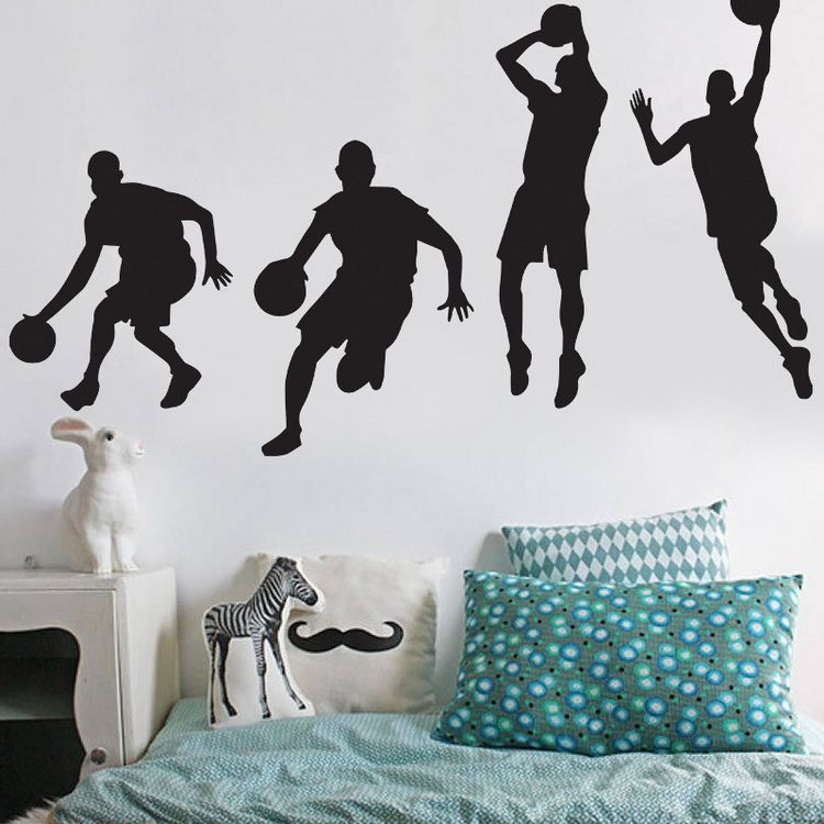 Michael Jordan Basketball Wall Sticker AW4017 | Our House ...