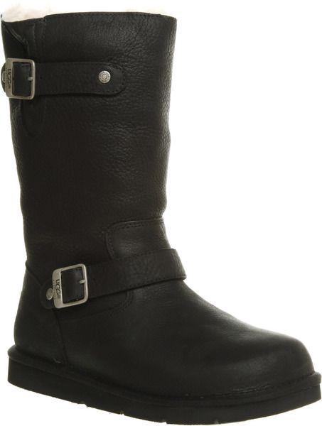 372d0306c21 Kensington Biker Boot Black Leather - Lyst | Things I love | Sneaker ...