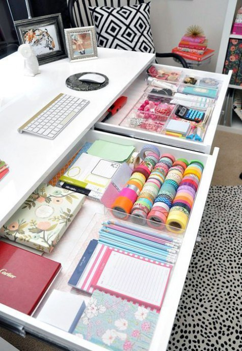 Awesome Home Office Organization Ideas