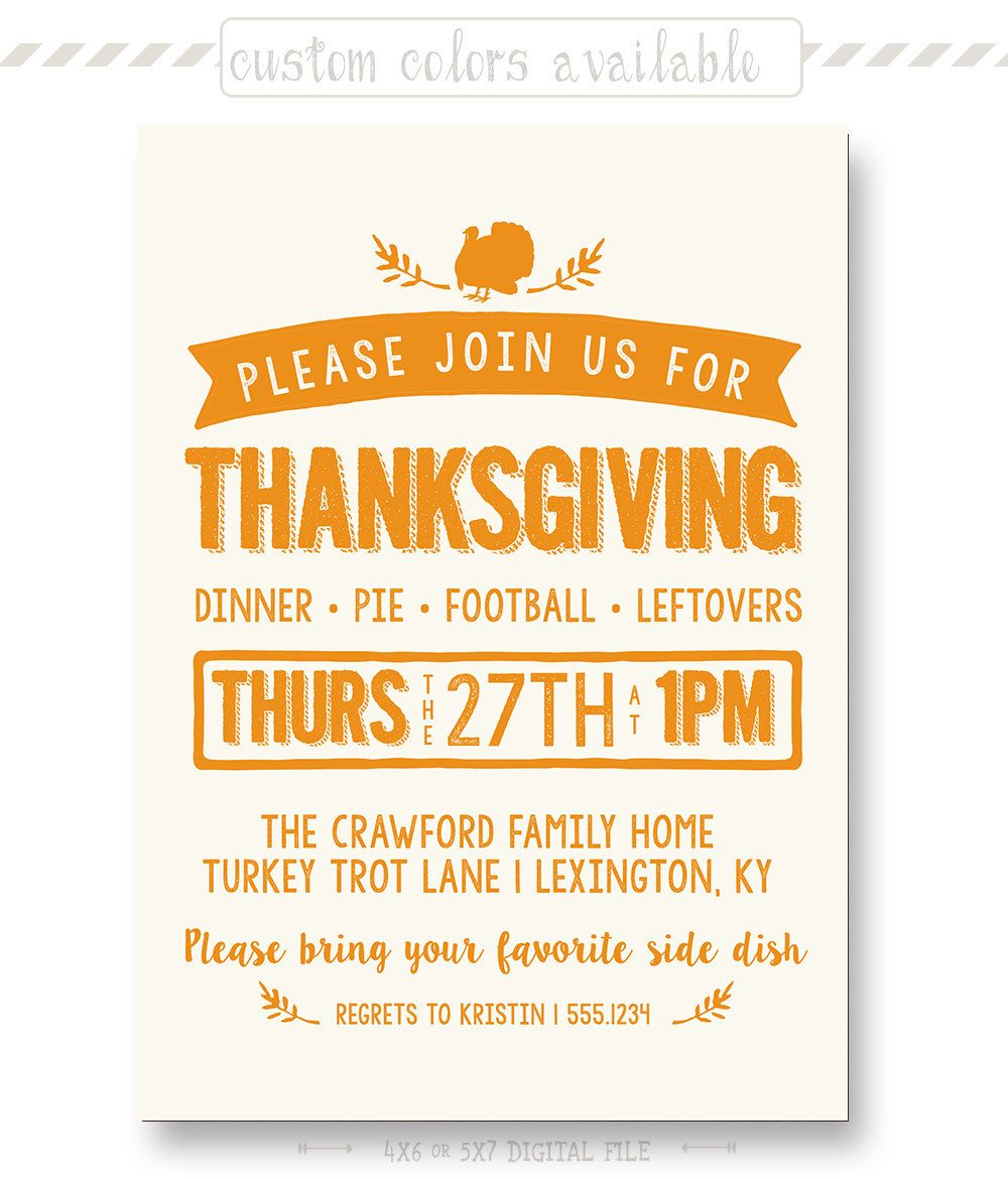 Retro thanksgiving invitation dinner pie football leftovers retro thanksgiving invitation dinner pie football leftovers dinner party invitation stopboris Image collections