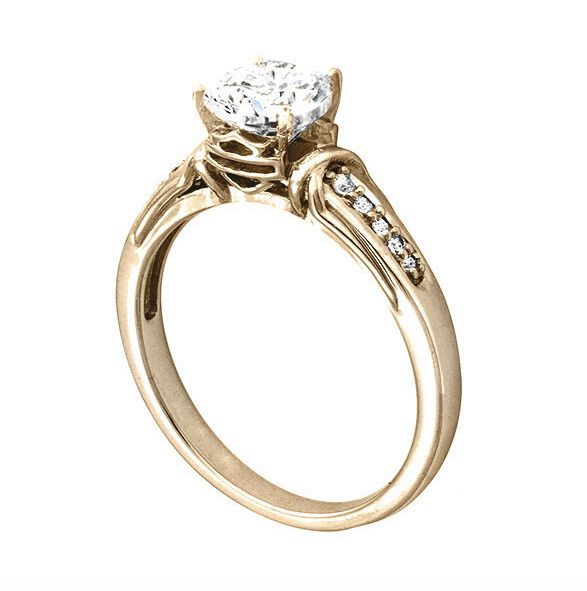 harley davidson wedding bands legacy engagement ring available in yellow gold h001 - Harley Wedding Rings