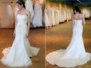 Designer David Tutera for Faviana  The Brides Project Price: $600  Size 10