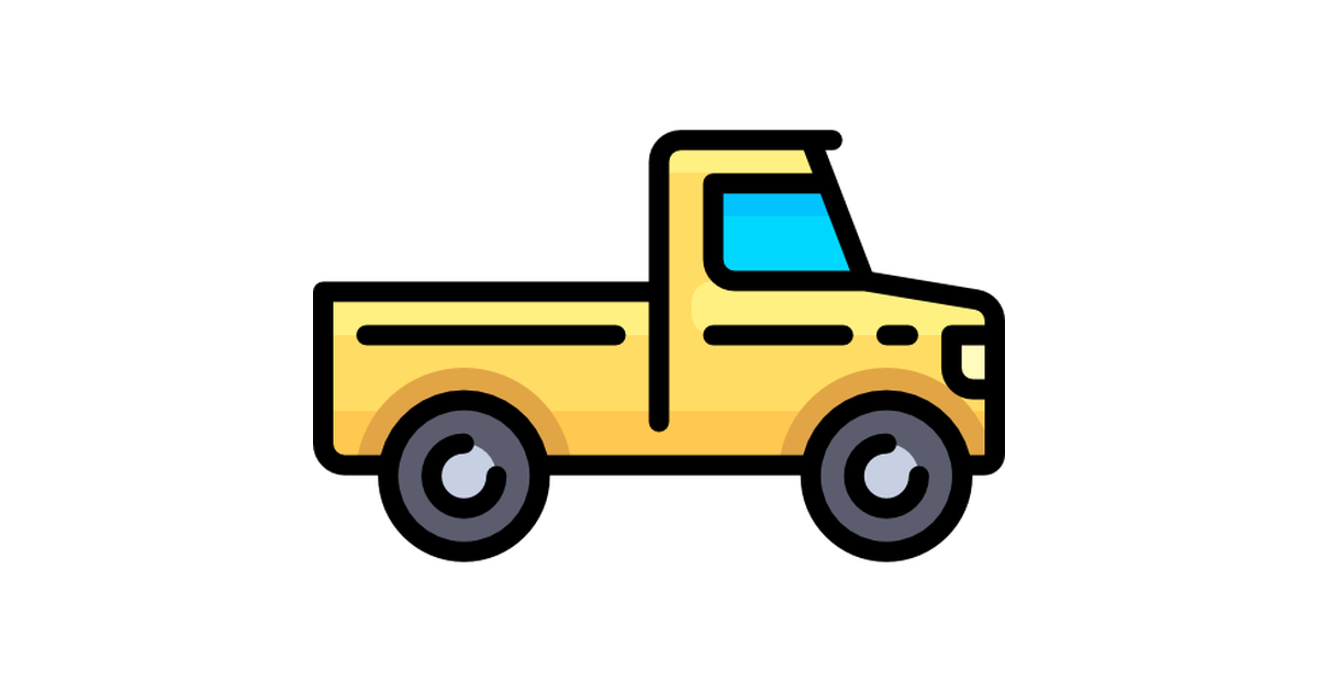 Pickup Truck Free Vector Icons Designed By Freepik Free Icons Truck Icon Icon