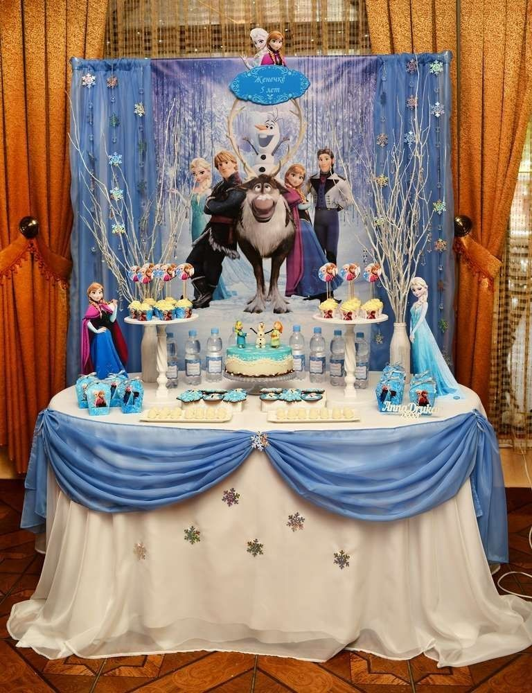 Pin by Cinthia Ibarra on bday in 2020 Frozen themed