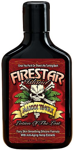 Firestar Island Maxxx Tingle from Lotion Source, It's HOT!  #tanning #tanninglotion