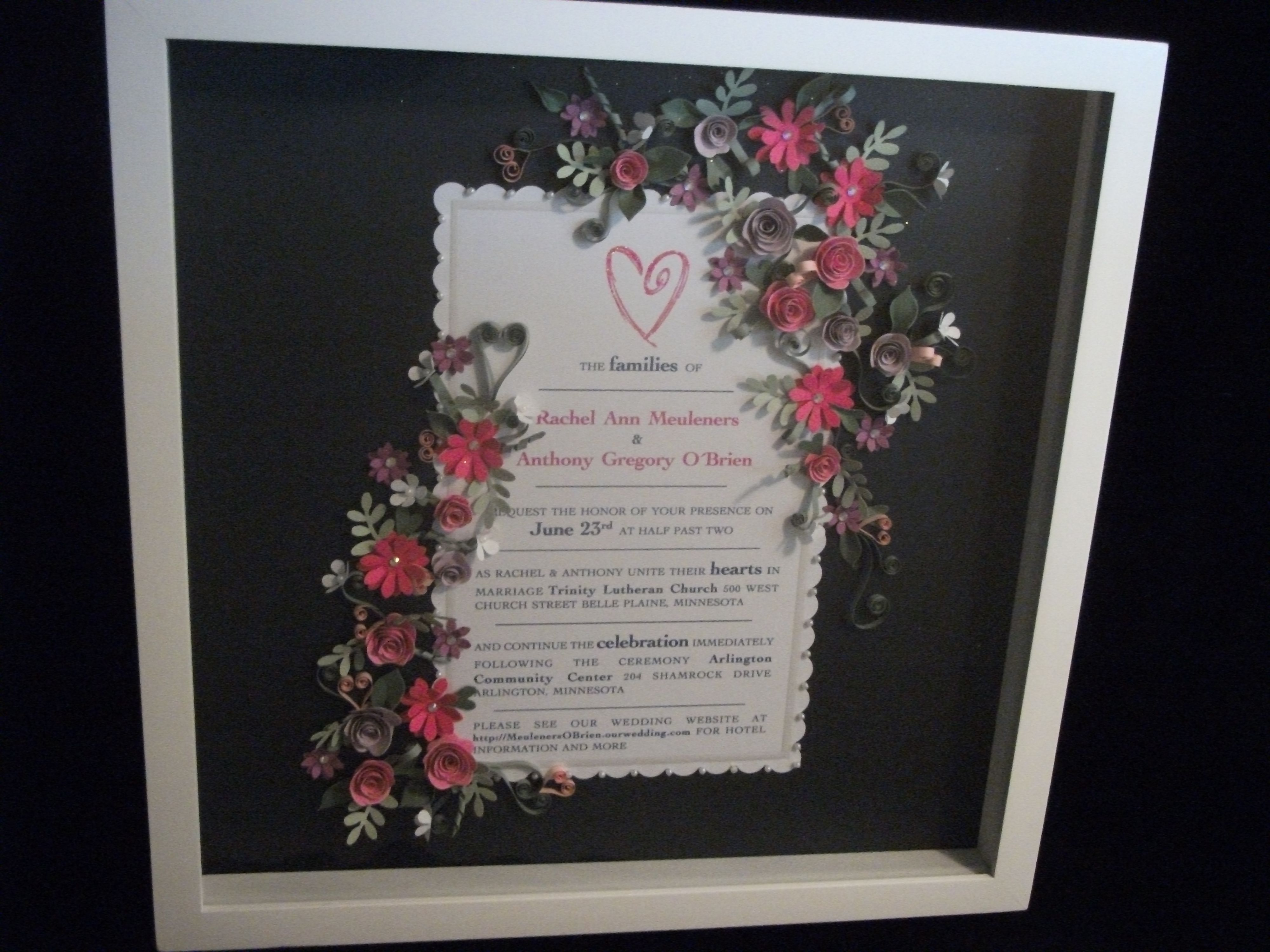 elegant quilled borders - Google Search | Quilling Picture Frames ...