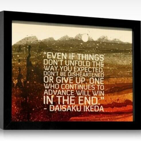 Sensei's Words Of Wisdom | Words, Ikeda quotes, Words of ...
