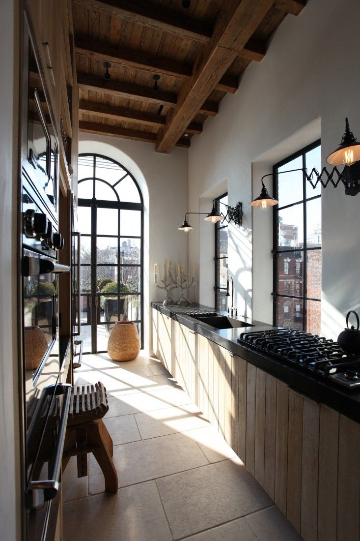 mna  galley kitchen design city penthouse house design
