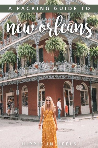 In case you don't know what to do in NOLA, here is my 3-day itinerary and here…