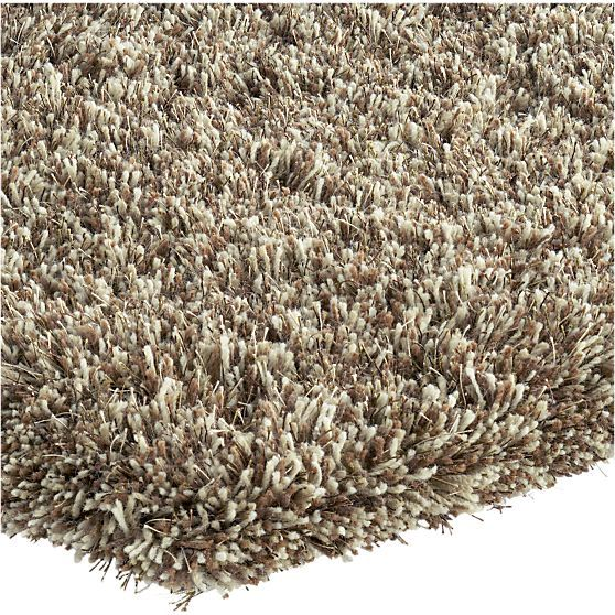 Zia Latte Shag Rug In Area Rugs Crate And Barrel 799 Area Rugs Small Area Rugs Round Area Rugs